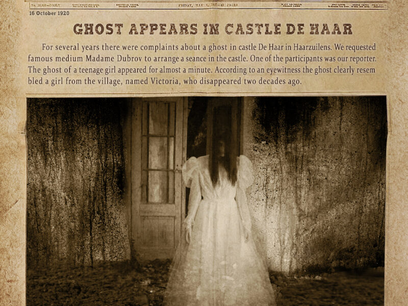 Ghost of teenage girl
