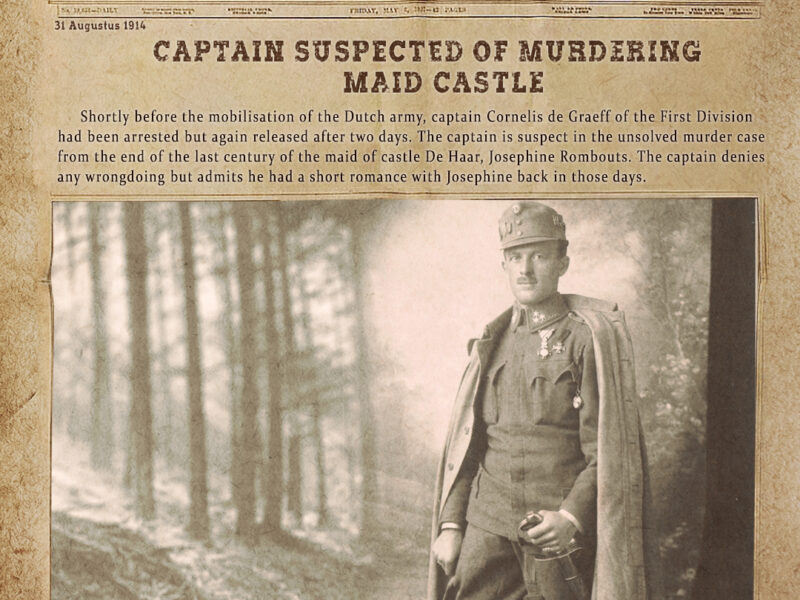 Dutch army captain Cornelis de Graeff