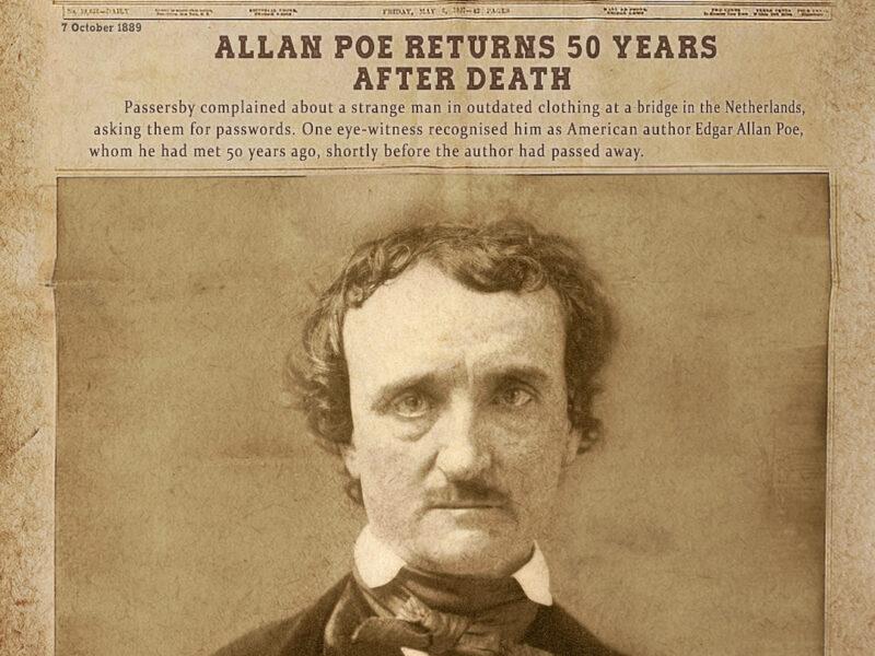 Author Edgar Allan Poe